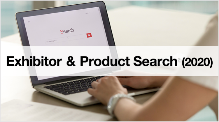 Exhibitor&Product search (2019)
